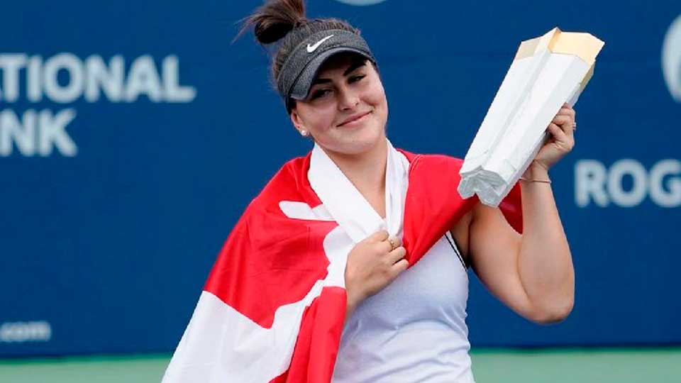 No 5 | Bianca Andreescu | Sport: Tennis | Country: Canada | Total Earnings: $8.9 million (Image: Reuters)