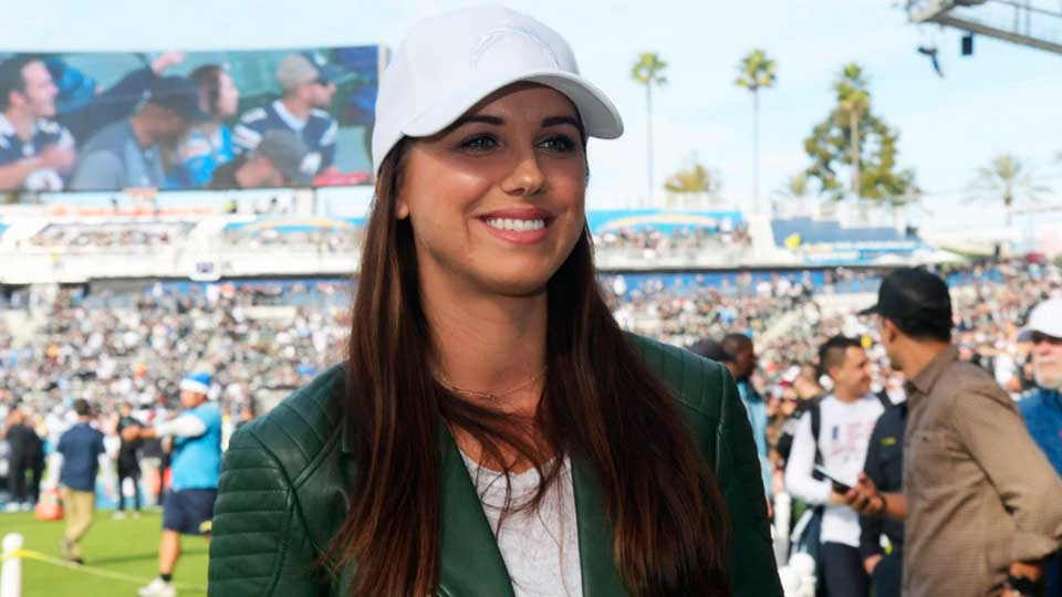 No 10 | Alex Morgan | Sport: Soccer | Country: The Unites States of America |Total Earnings: $4.6 million (Image: Reuters)